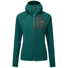 Rab Superflux Hoody Women, atlantis/pine